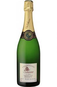 Champagne De Sousa à Avize Grand Cru Réserve Blanc de Blancs - Brut
